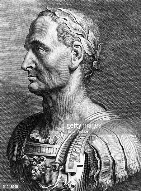 caesar augustus gifted statesman or ruthless Roman general and statesman who quarrelled with caesar and fle.