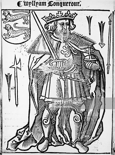 Circa 1066 William I the Conqueror King of England from 1066 when he beat Harold II at Hastings and was crowned at Westminster Abbey on Christmas Day
