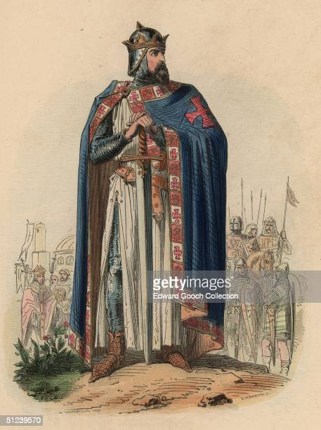 Circa 1099 French nobleman Godfrey of Bouillon who captured Jerusalem in 1099 during the First Crusade and became the city's first Christian ruler...