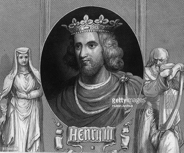 Circa 1250, Henry III , King of England from 1216