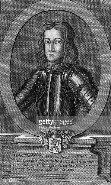 Circa 1277, Hartman of Habsburg, son of Holy Roman Emperor Rudolf I, who was drowned in the Rhine on the 21st December 1282, at the age of nineteen.