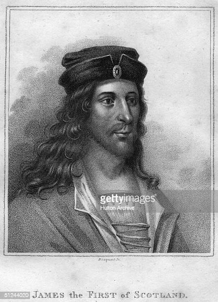 Circa 1430 King James I of Scotland who reigned from 1424