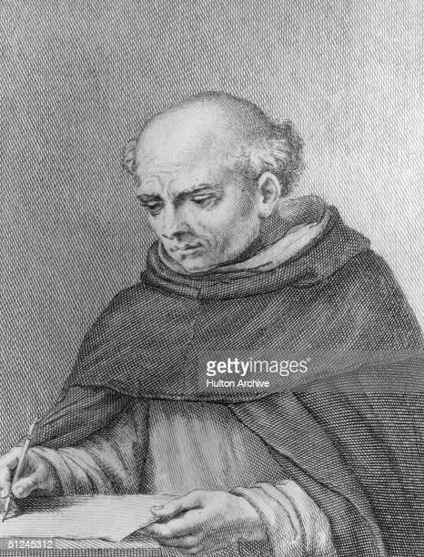Circa 1450, Italian painter Fra Angelico, , real name Guido di Pietro, monastic name Giovanni da Fiesole.