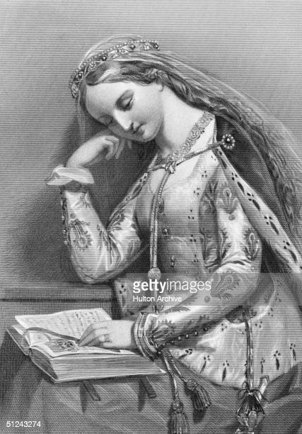 a letter to my wife elizabeth of york stock photos and pictures getty images 21541 | circa 1490 elizabeth of york wife of henry vii of england engraved by picture id51243274?s=612x612