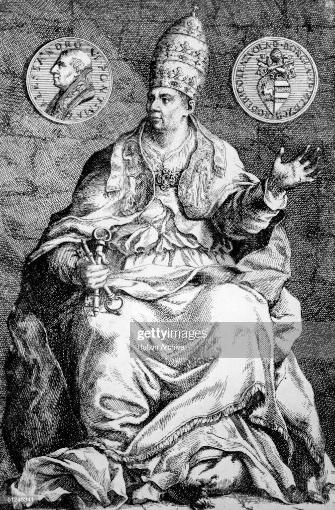 Pope Alexander VI : News Photo