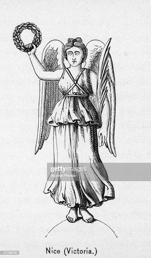Nike Greek Goddess Stock Illustrations And Cartoons Getty Images