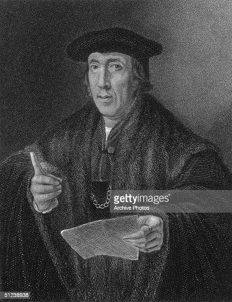 Circa 1500 Sir John More English barrister and jurist Father of Sir Thomas More Lord Chancellor of England beheaded in 1535 for his refusal to...