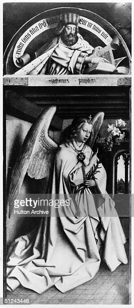 Circa 1500 The Angel Gabriel