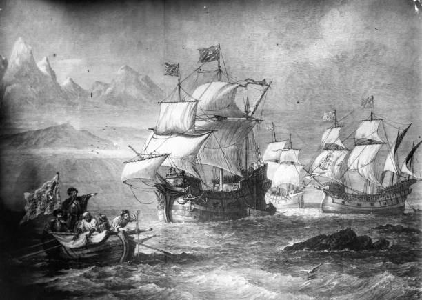 Ferdinand Magellan Portuguese Explorer: 28 Nov Explorer Magellan Begins Crossing The Ocean He