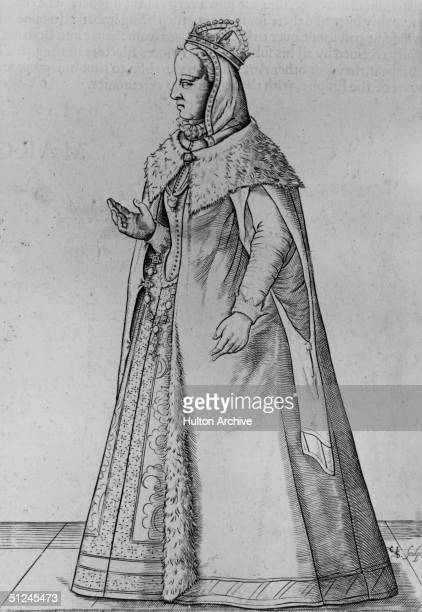 Circa 1520, Margaret of Austria, , Duchess of Savoy. In 1507 her father, emperor Maximilian I, appointed her regent of the Netherlands.