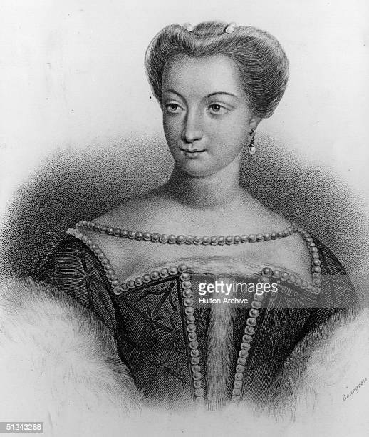 Circa 1530, Diane De Poitiers, Duchess of Valentinois , mistress of King Francis I and King Henry II of France.
