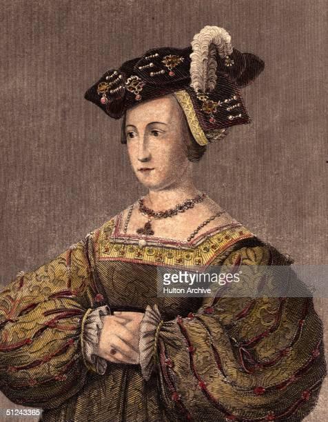Circa 1530, Queen Anne Boleyn , second wife of Henry VIII.