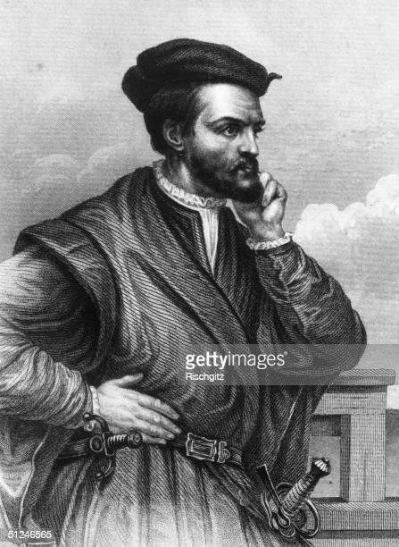 Circa 1545, French navigator and explorer Jacques Cartier .