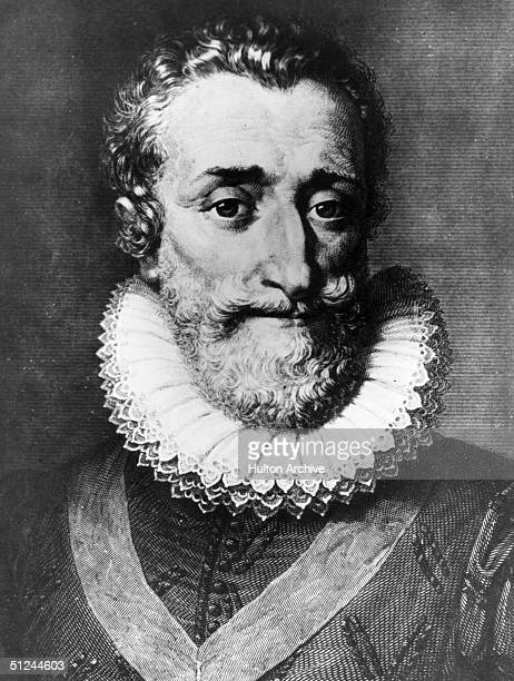 Circa 1600, Henri IV, known as Henri of Navarre , king of France from 1589.