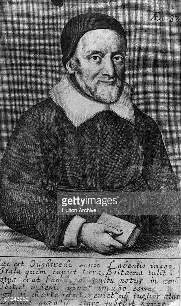 Circa 1640, English mathematician and inventor of the slide rule, William Oughtred , who is said to have died of joy after hearing of the restoration...