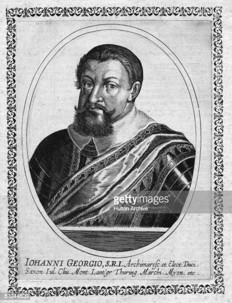Circa 1645, Elector Johann Georg I of Saxony .