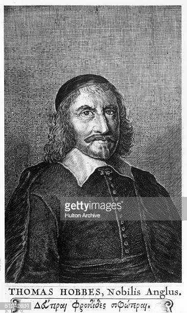 Circa 1650 English philosopher and political theorist Thomas Hobbes