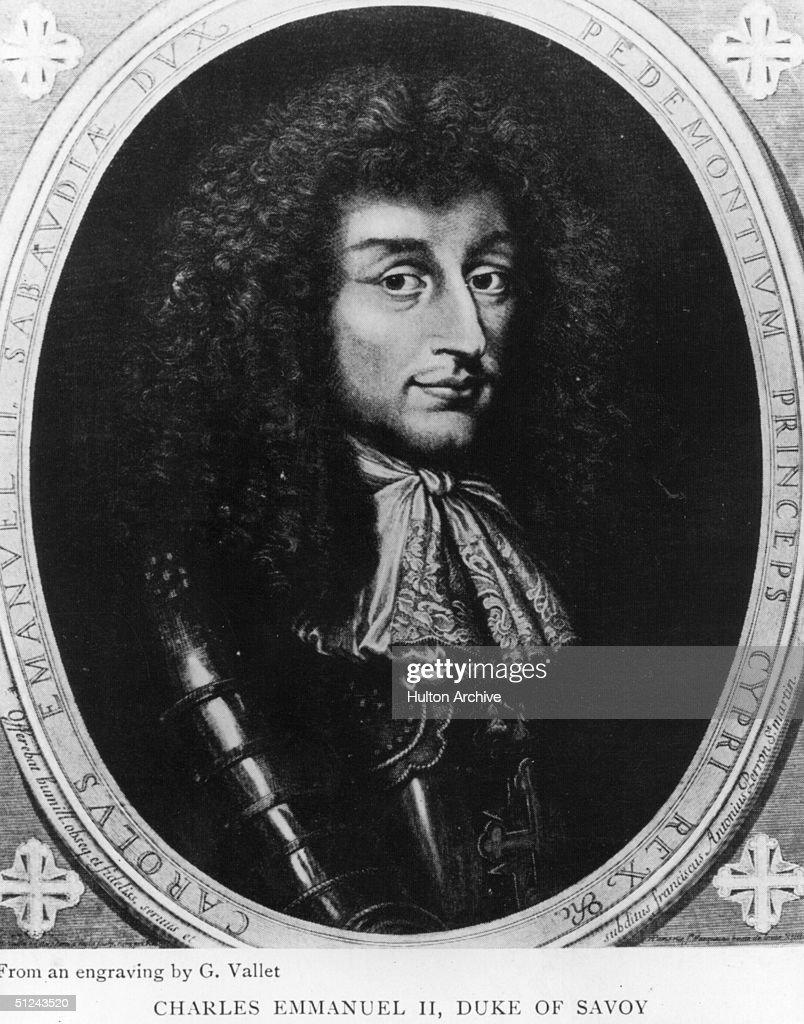 Charles Emmanuel II : ニュース写真