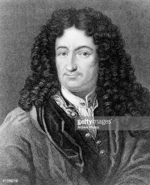 Circa 1680, Gottfried Wilhelm Leibniz , German rationalist philosopher and mathematician. In 1675 he founded integral and differential calculus,...