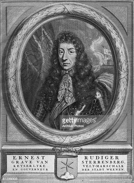 Circa 1698 Ernst Rudiger Count von Starhemberg Austrian field marshal who fought in the AustroTurkish War He was made minister of state and president...
