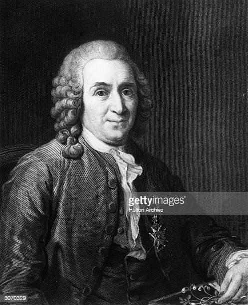 Swedish physician and botanist Carl von Linnaeus , founder of the modern system of binomial nomenclature for plants. Original Publication: From a...