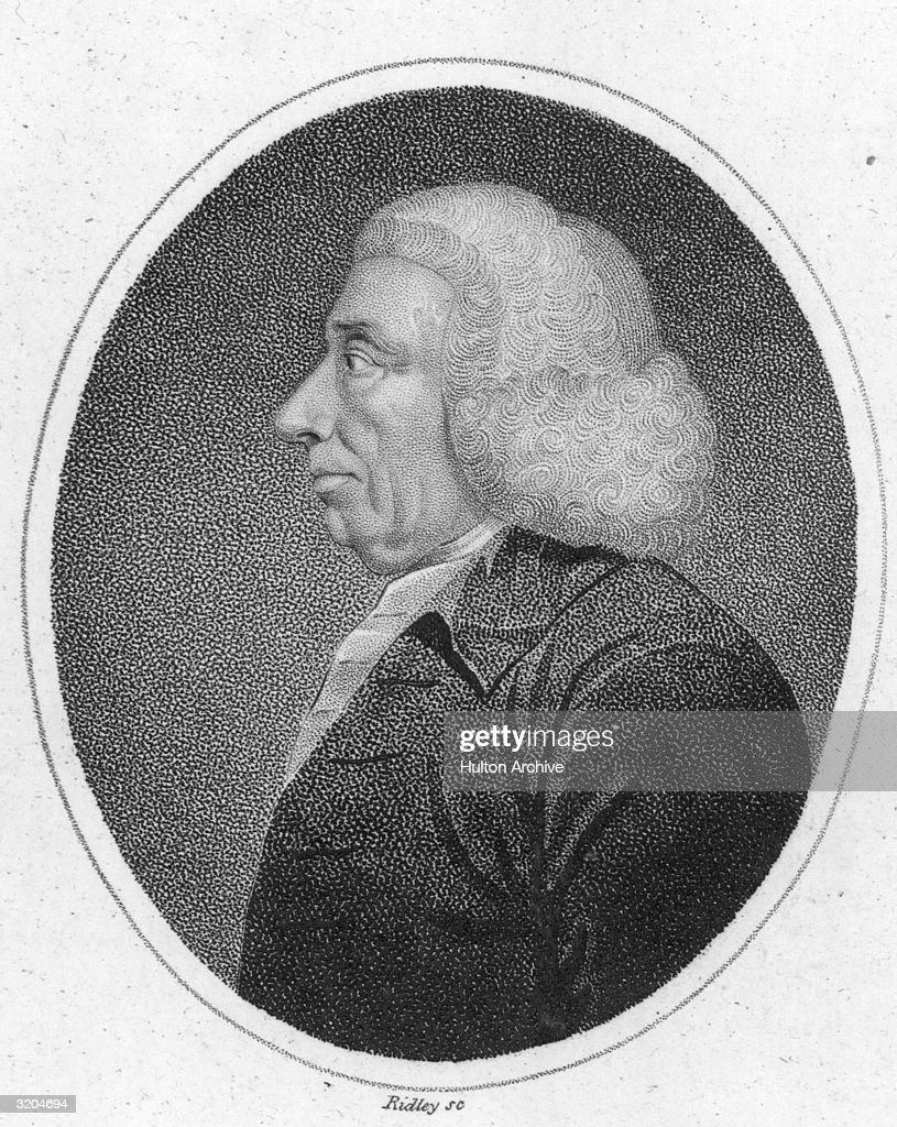 Thomas Reid (1710-1796). Scottish philosopher. Founder of the 'Common Sense School' of philosophy. A Presbyterian pastor 1737-51 and professor at Aberdeen 1751-64, succeeded Adam Smith as professor of moral philosophy at Glasgow 1764-81, published 'Essays on the Intellectual Powers of Man' 1785, 'Essays on the Active Powers of Man' 1788. Original Artwork: Engraving by Ridley.