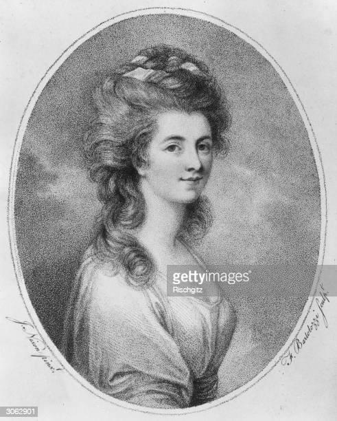 Duchess of Devonshire Georgiana Spencer , 1st wife of the 5th Duke of Devonshire.