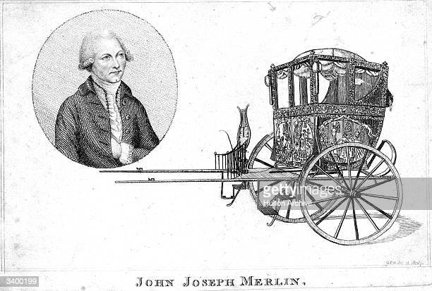 Flemish mechanic and inventor Jean Joseph Merlin from Huy in modern Belgium. In addition to this single horse-drawn carriage, he is credited with the...