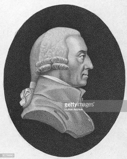 Scottish economist and philosopher Adam Smith Professor of moral philosophy at the University of Glasgow from 1752 he published 'Theory of Moral...