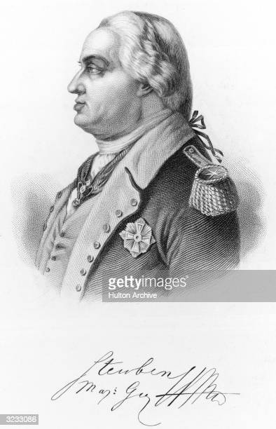 Major General Baron Friedrich Wilhelm von Steuben Prussian soldier who became a tactical advisor to George Washington during the American War of...