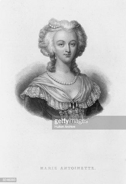Marie-Antoinette , Queen of Louis XVI of France. She was the fourth daughter of Empress Maria Theresa and Holy Roman Emperor Francis I of Austria and...