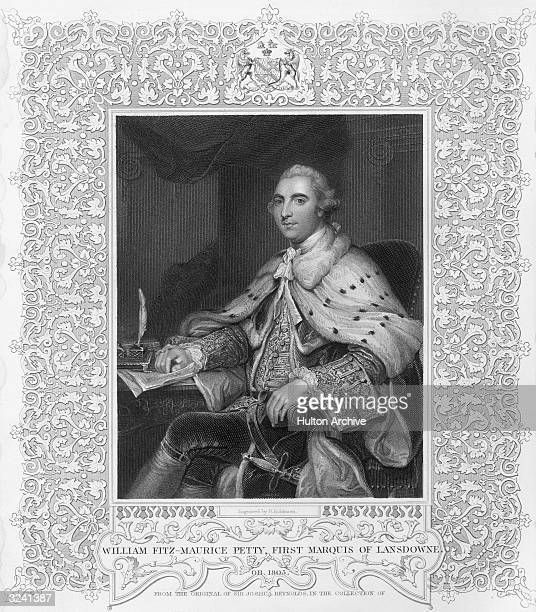William Petty 1st marquess of Lansdowne 2nd Earl Shelburne British politician President of the Board of Trade 1763 opposed the Stamp Act imposed on...
