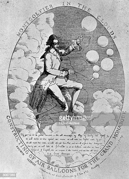 French paper manufacturer Montgolfier exults amongst the clouds after his successful invention of a hotair balloon He plots the overthrow of the...
