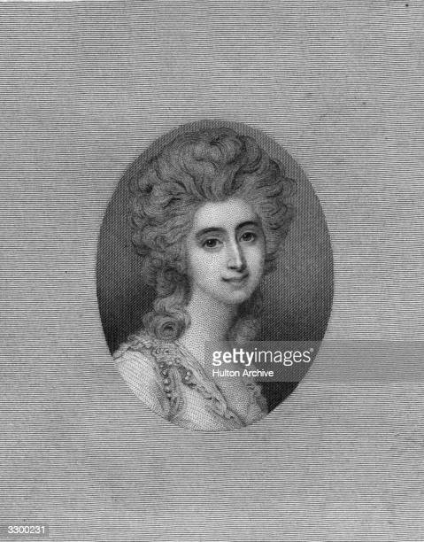 Scotswoman Grace Dalrymple Elliott a famous beauty of Edinburgh society and the wife of Sir John Elliott MD who divorced her in 1774 for her many...