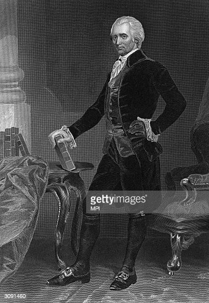 American statesman Richard Henry Lee who moved the motion that led to the Declaration of Independence