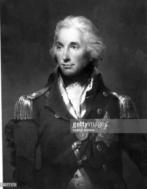 British naval commander Horatio Nelson .