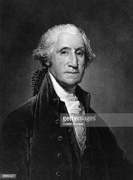 George Washington , the 1st President of the United States of America. He was also Commander in Chief of the Continental army during the American War...