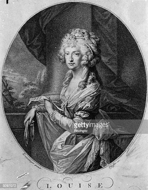Maria Louisa, , Empress of Germany, the Holy Roman Empress. Born Maria Louisa of Bourbon, she married Emperor Leopold II.