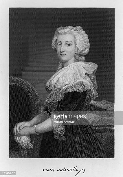 Marie-Antoinette . Queen of Louis XVI of France, fourth daughter of Empress Maria Theresa and Holy Roman Emperor Francis I of Austria, married Louis...