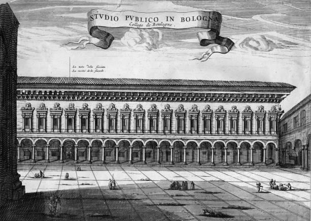 The University of Bologna, the oldest surviving university...
