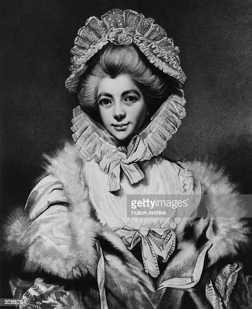 Countess Lavinia Spencer wife of the 2nd Earl George John Spencer the statesman and famous collector of books