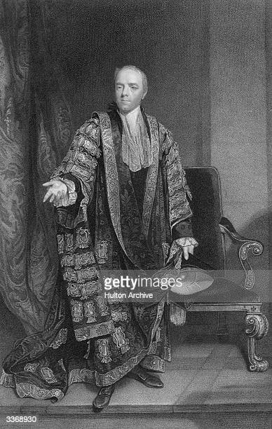 English statesman William Wyndham Grenville , 1st Baron Grenville, Chancellor of Oxford University. He acted as Home Secretary in 1789-90 and Foreign...