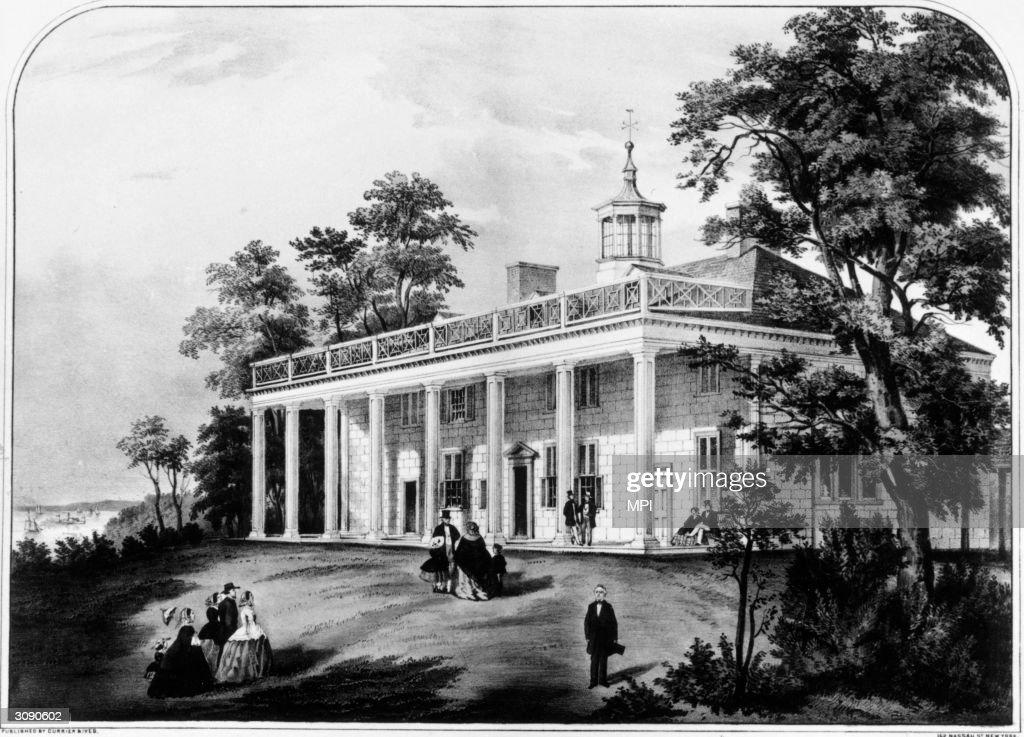 Mount Vernon : News Photo