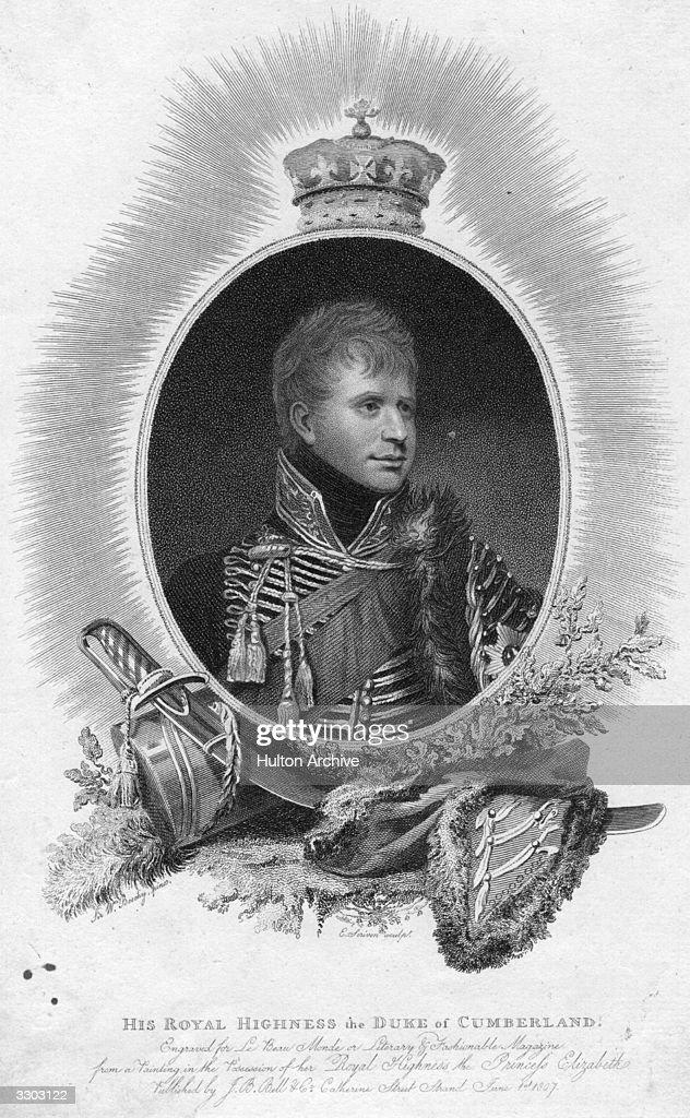 King Ernest I : News Photo