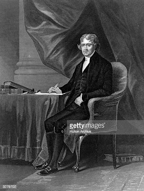 Thomas Jefferson , 3rd President of the United States of America (1801 - 1809, founder of the Democratic Republican Party. He was largely responsible...