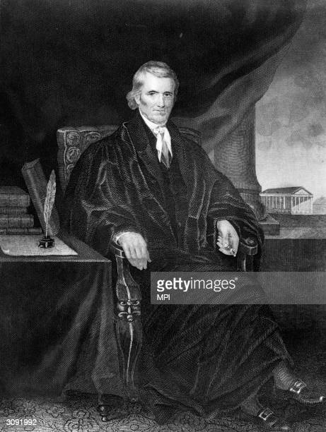 John Marshall , who was Chief Justice of the Supreme Court from 1801 until his death. The liberty bell in Philadelphia cracked while ringing at his...