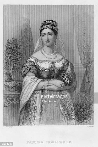 Maria-Paulette Bonaparte, , sister of Napoleon I, married Charles Leclerc, then Prince Camillo Borghese, became duchess of Guastalla.