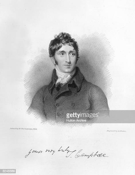 Portrait of George Canning British politician MP 1793 1827 undersecretary foreign affairs 179699 in Pitt's government published the AntiJacobin 1797...