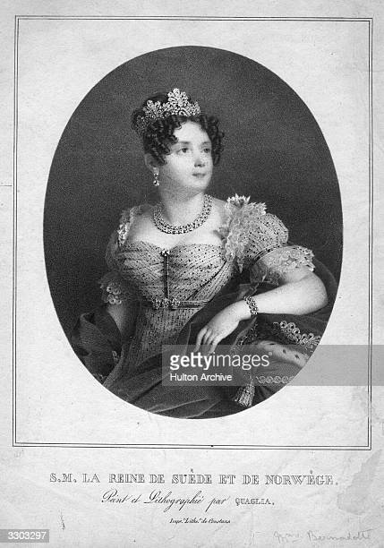 Princess Desiree Clary wife of Marshal Bernadotte later to become Charles XIV of Sweden