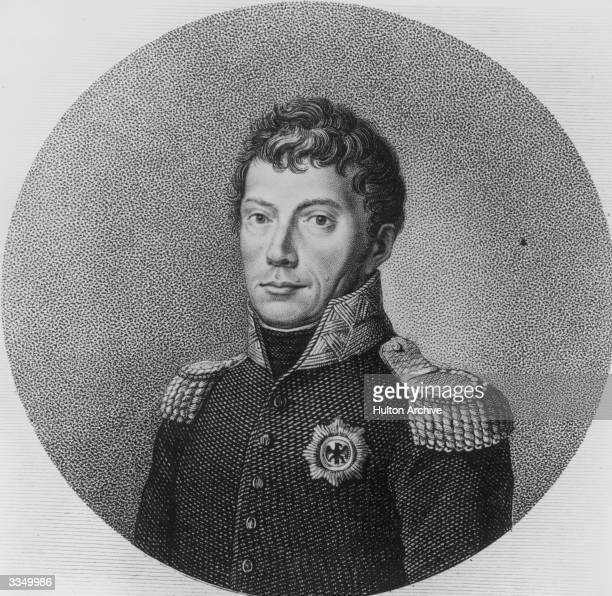 King of the Netherlands and Grand Duke of Luxembourg, Willem I . The last heriditary Stadtholder of the United Netherlands, he commanded the Dutch...